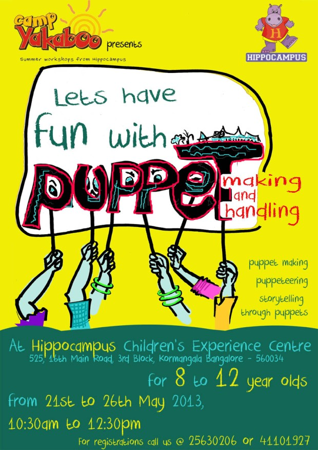PUPPET WORKSHOP ONLINE EMAILER