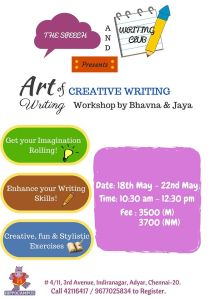 Creative writing 18th may 22nd may